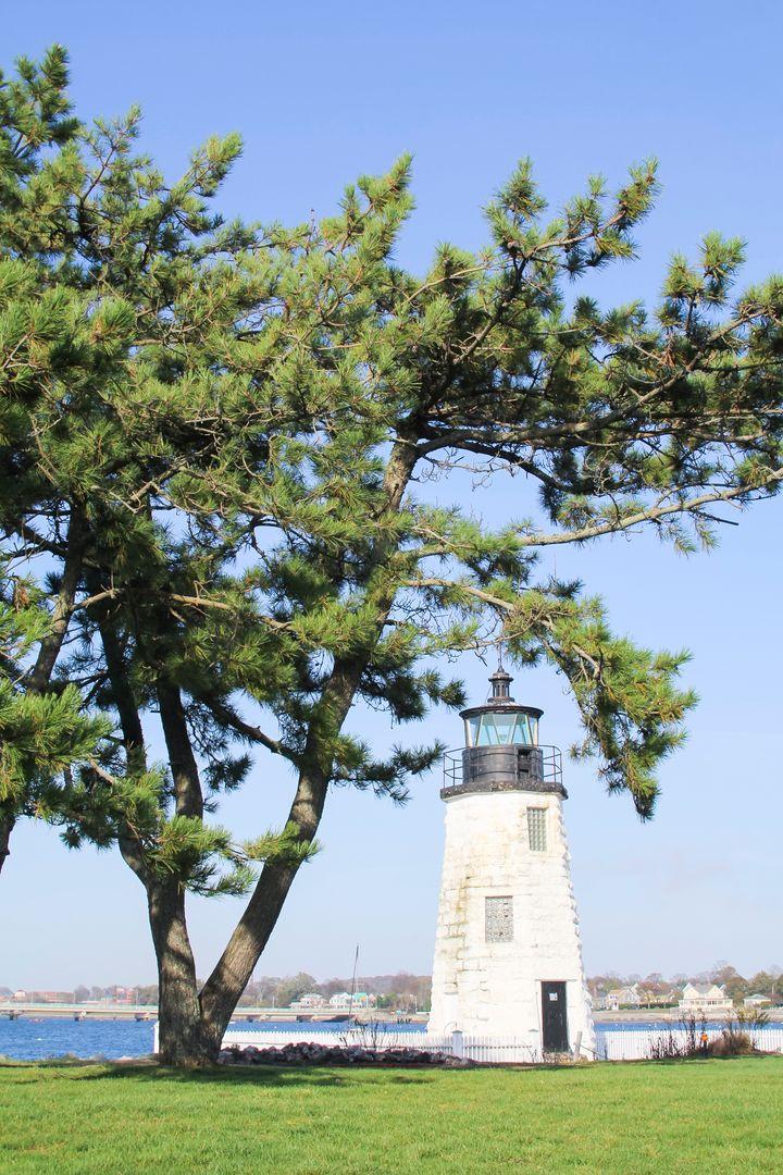 <p>Lighthouse at Gurney's Newport Resort and Marina</p>