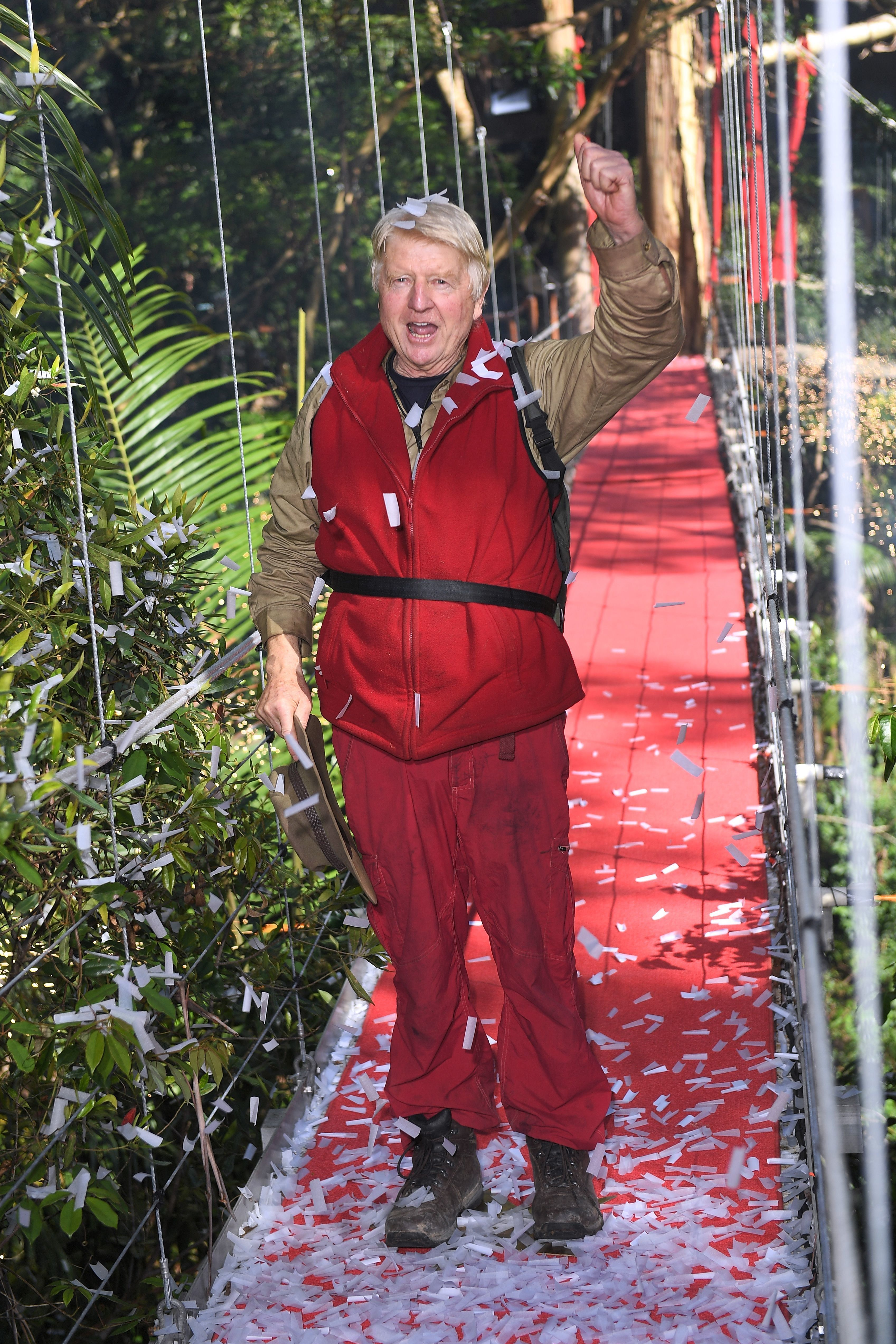 <strong>Stanley Johnson was the fifth person to be voted out of the jungle</strong>