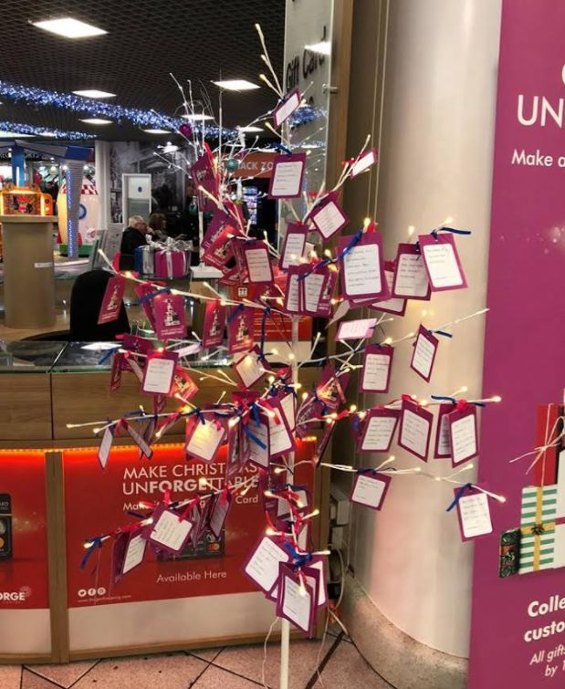 This 'Giving Tree' Is Decorated With Wish Lists From Kids Who Are Going Without This