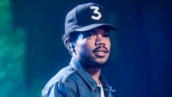 Chance The Rapper performs live on stage as part of the Apple Music Festival 2016 at the Roundhouse, Camden, London. Photo Date: Friday 30th September 2016. Photo Credit Should read: David Jensen/EMPICS Entertainment