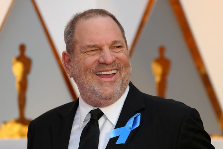 Weinstein at the Oscars in February.