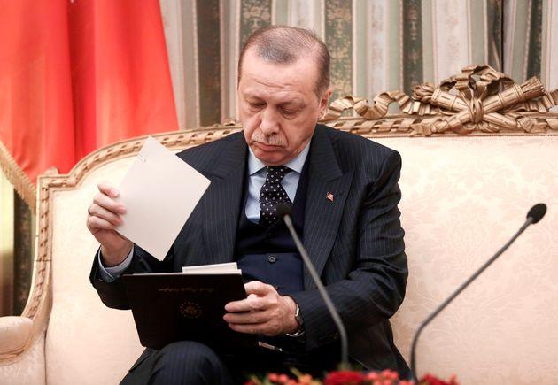Το σημείωμα του Τούρκου Αρχηγού των Ενόπλων Δυνάμεων στον Ερντογάν στο