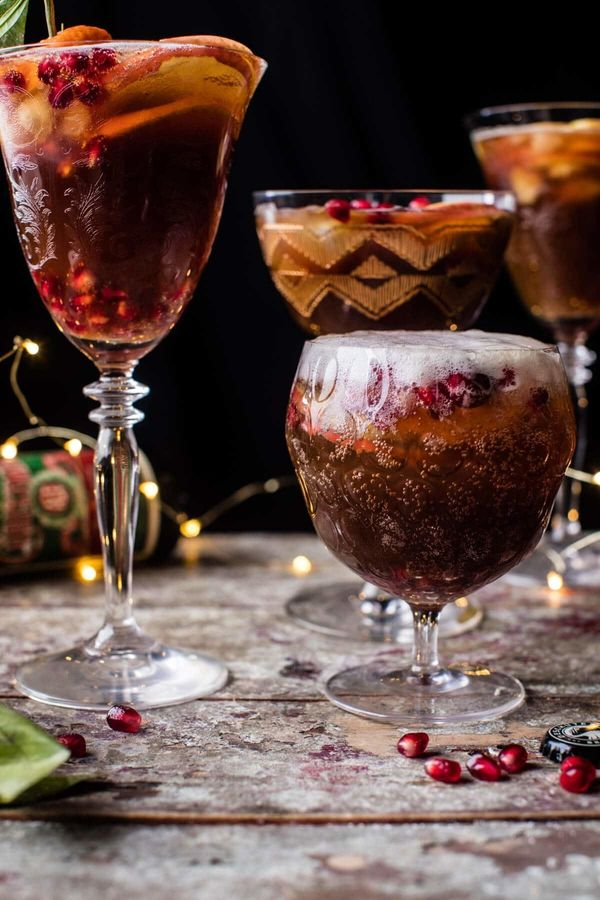 """<strong>Get the <a href=""""https://www.halfbakedharvest.com/christmas-ale-sangria/"""" target=""""_blank"""">Christmas Ale Sangria</a> r"""