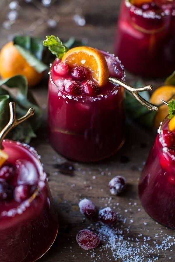 "<strong>Get the <a href=""https://www.halfbakedharvest.com/cranberry-orange-margaritas-video/"" target=""_blank"">Cranberry Orang"