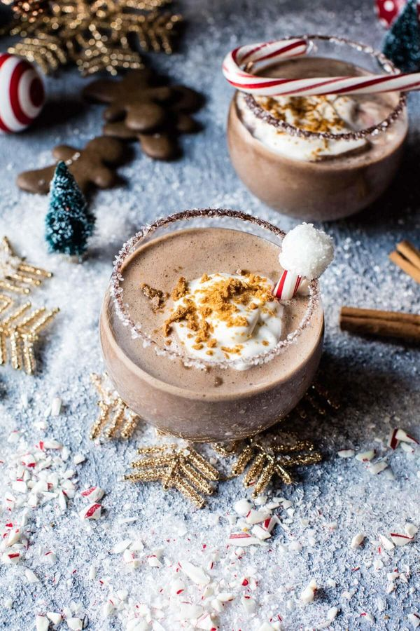 """<strong>Get <a href=""""https://www.halfbakedharvest.com/north-pole-cocktail/"""" target=""""_blank"""">The North Pole</a> recipe from Ha"""