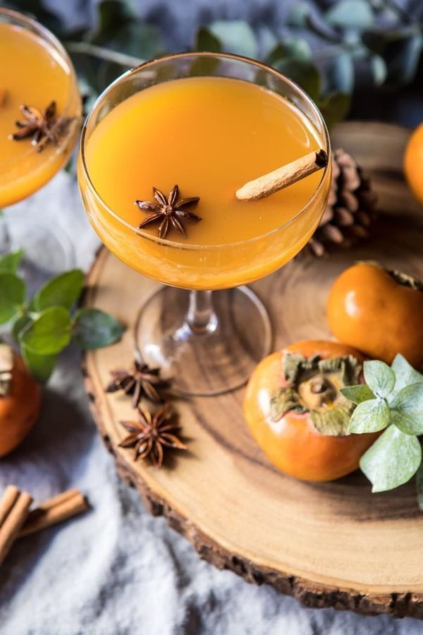 """<strong>Get the <a href=""""https://www.halfbakedharvest.com/spiced-persimmon-bourbon-old-fashioned/"""" target=""""_blank"""">Persimmon"""
