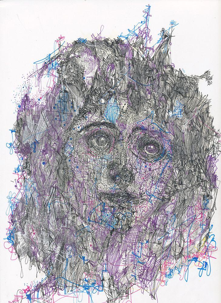 <em>You Are You</em>, Michael Alan, drawing, 2017
