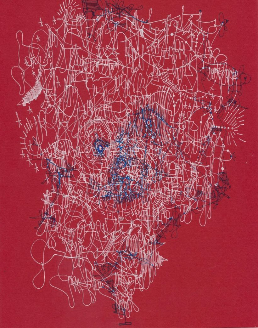 <em>Untitled</em>, Michael Alan, drawing, 2017