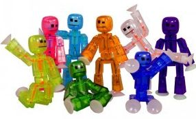 Stikbot from Zing, a toy that's built a huge community using social media.