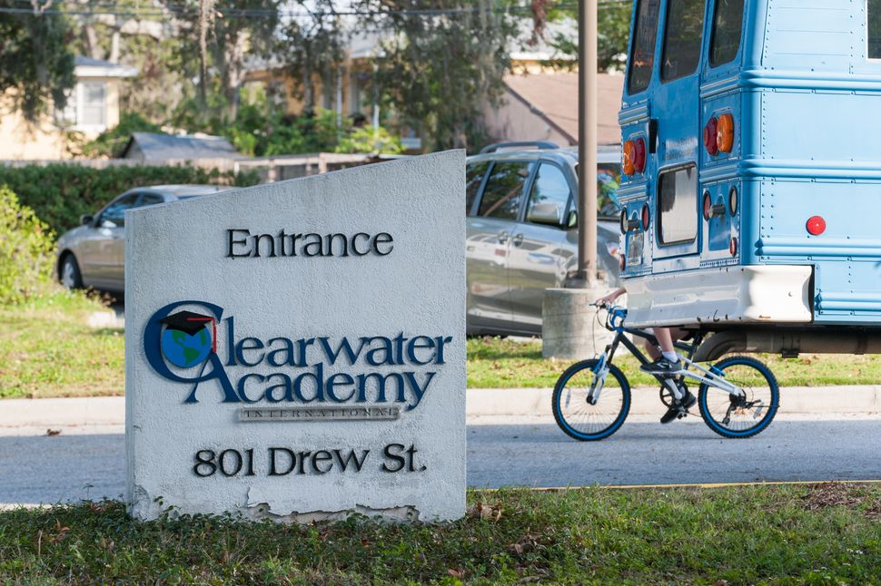 Clearwater Academy bills itself as secular, despite using educational methods developed by L. Ron Hubbard,...