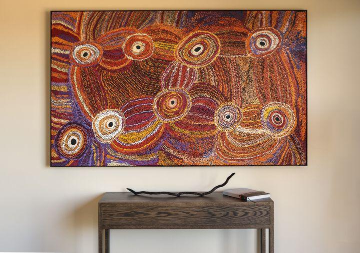 <p>I<strong>ndigenous Painting - Longitude 131</strong></p>