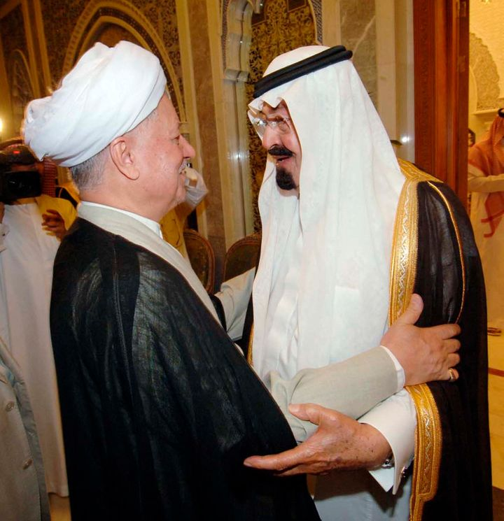 Ali Akbar Hashemi Rafsanjani,Iran's top moderate politician, visited Saudi Arabia more than once and approved high-leve