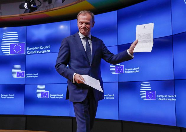 Brexit: Δήλωση Τουσκ την Παρασκευή με όλα τα ενδεχόμενα