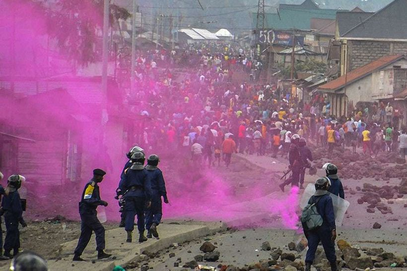 Political violence in the Democratic Republic of the Congo, September  2016