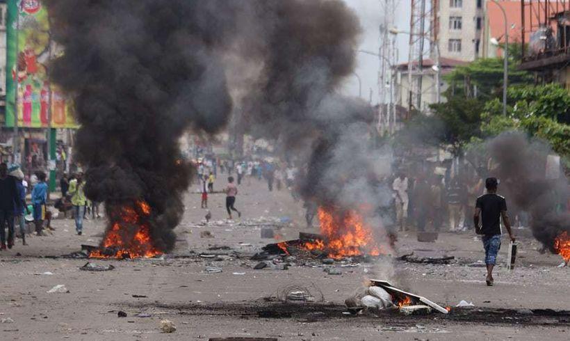 Political violence in the DRC, September 2016