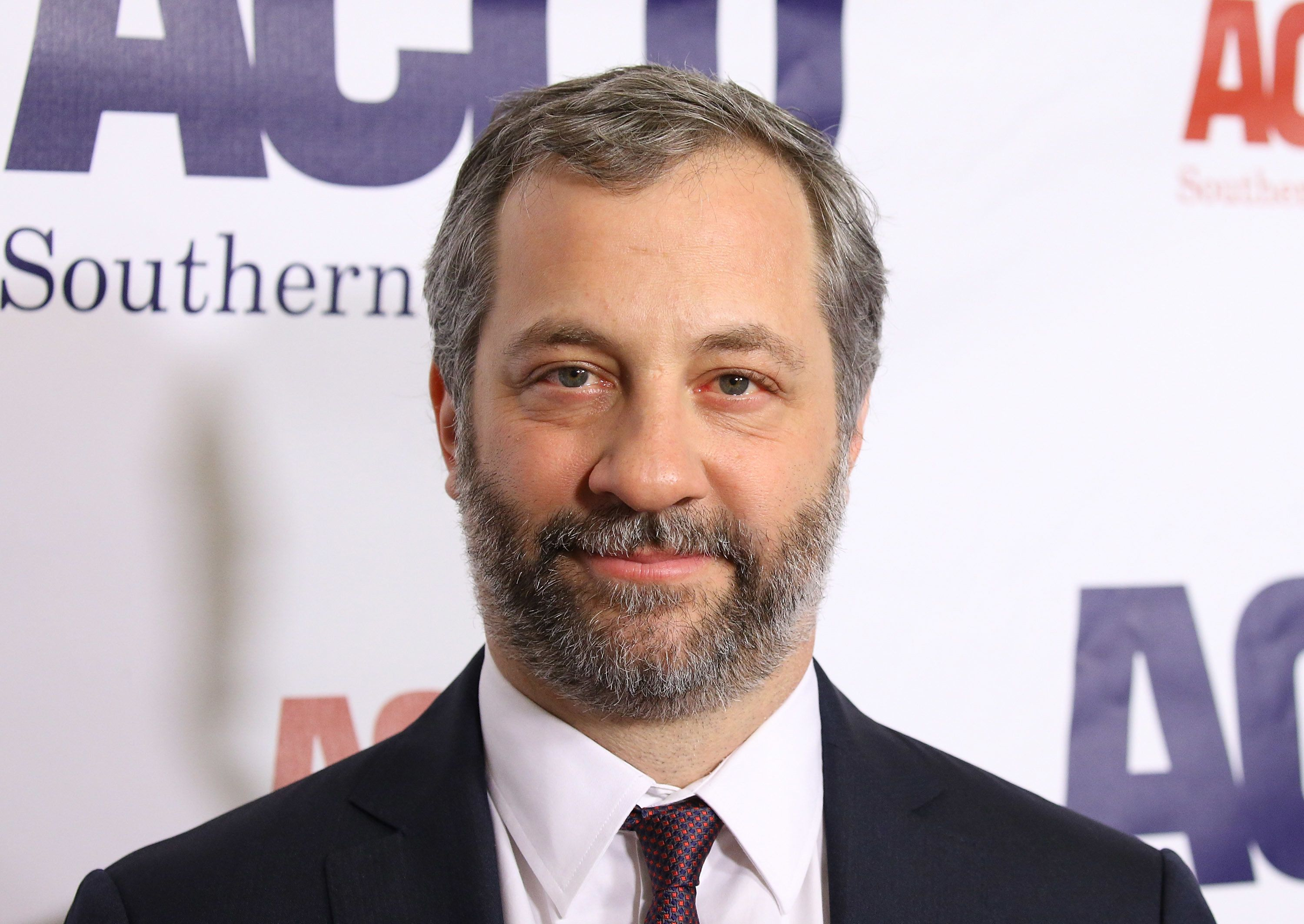 BEVERLY HILLS, CA - DECEMBER 03:  Judd Apatow arrives to the ACLU SoCal's Annual Bill of Rights dinner held at the Beverly Wilshire Four Seasons Hotel on December 3, 2017 in Beverly Hills, California.  (Photo by Michael Tran/FilmMagic)