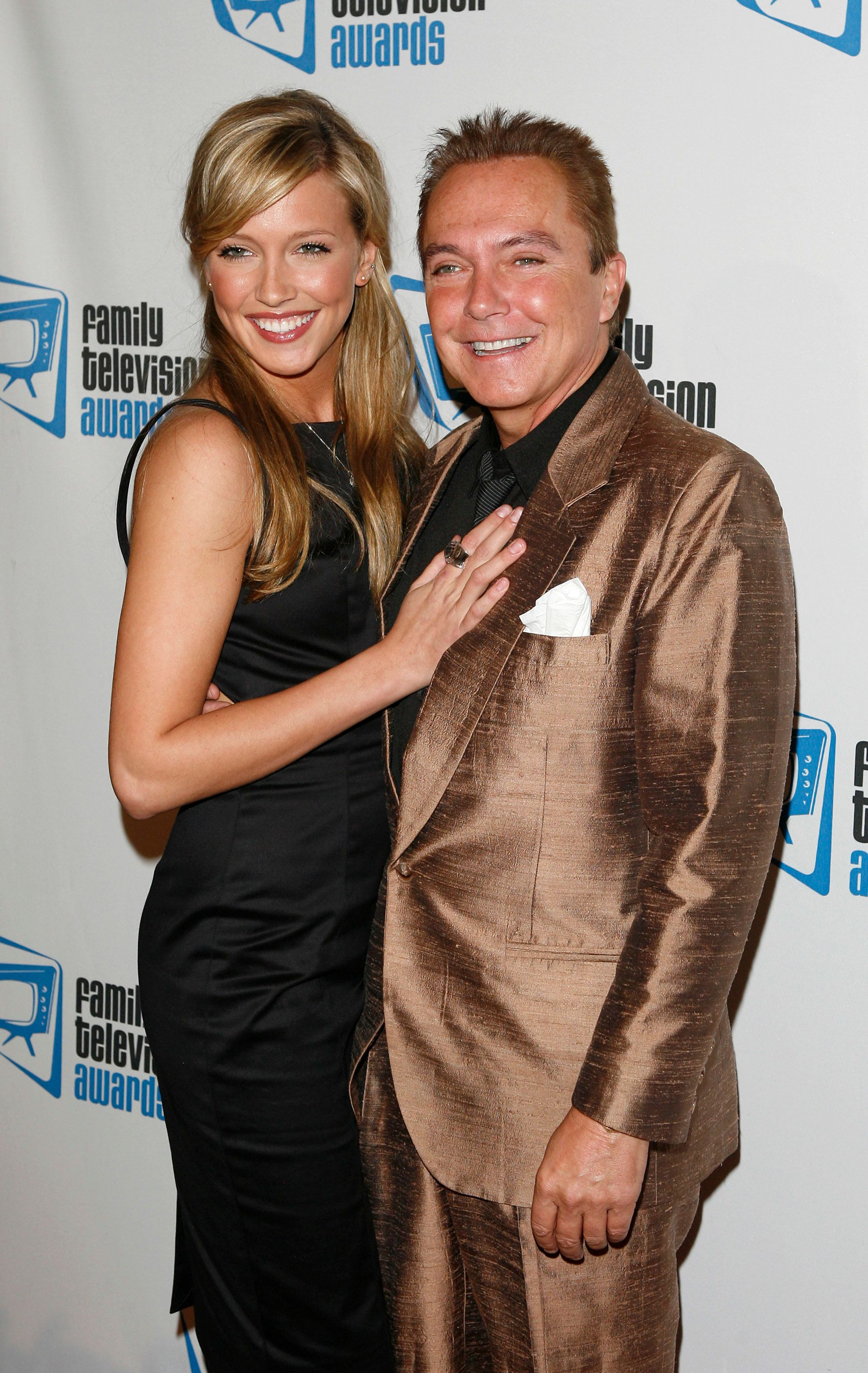 Katie Cassidy and David Cassidy pictured together in 2007.