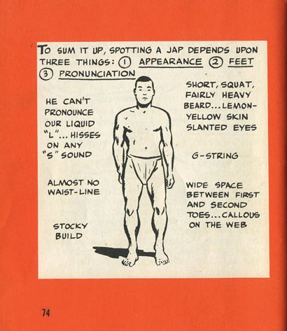 An image from a comic strip that was distributed to U.S. soldiers.
