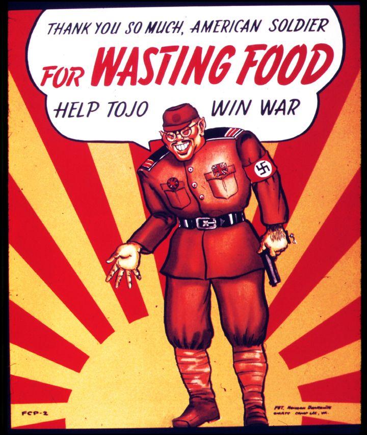 American anti-Japanese propaganda poster.