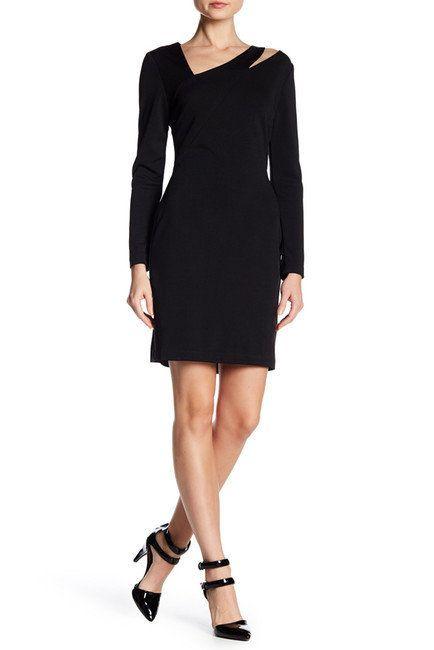 "<a href=""https://www.nordstromrack.com/shop/product/2213129/alexia-admor-asymmetrical-neck-sheath-dress?color=BLACK"" target="""