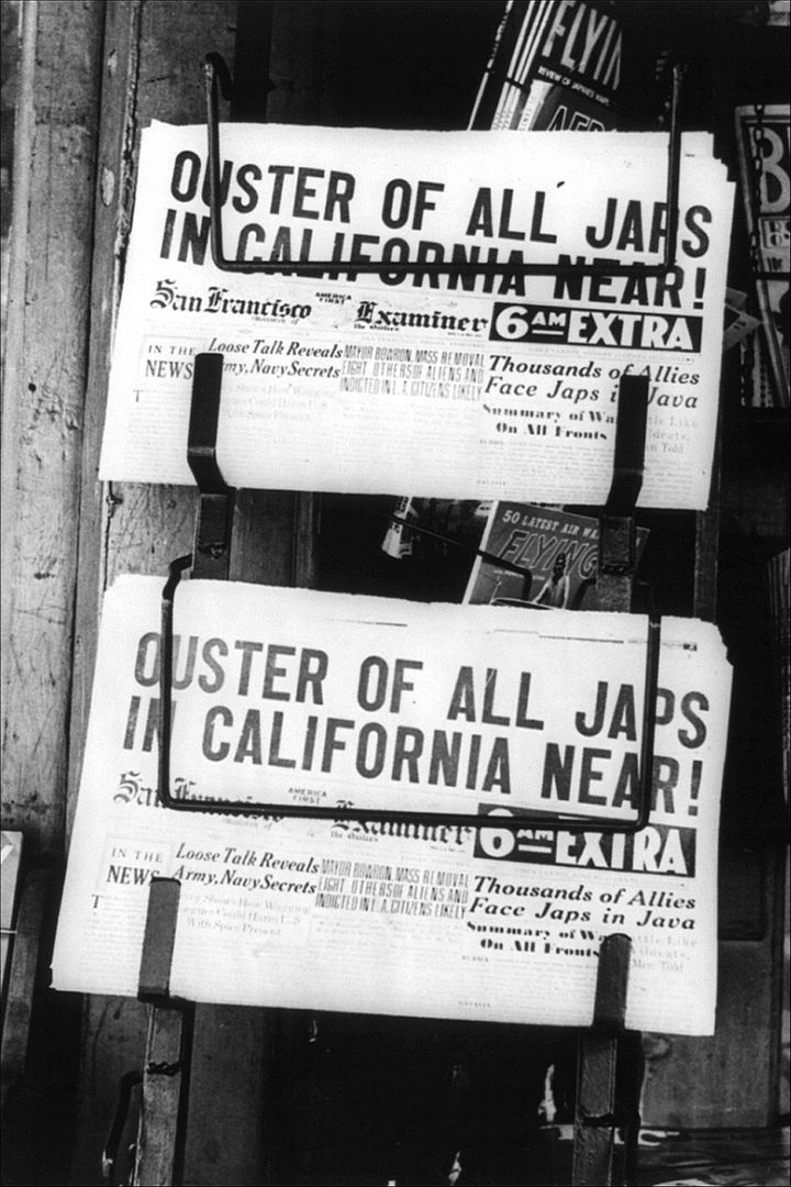 A newspaper from circa 1942.