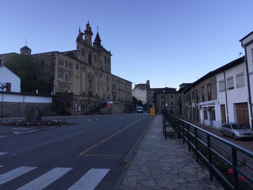 Downtown Villafranca, Bierzo, Spain