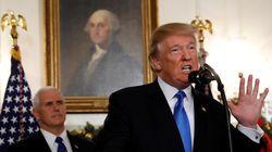 Λευκός Οίκος: Ο Τραμπ δυσκολευόταν στην ομιλία για την Ιερουσαλήμ επειδή είχε ξεραθεί ο λαιμός