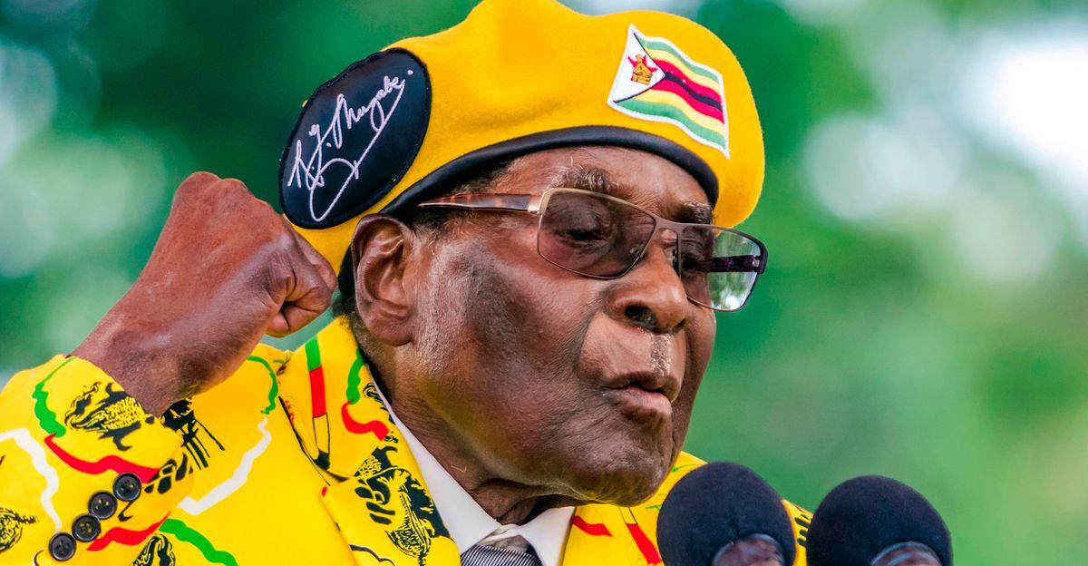 Robert Mugabe, Who Ruled Zimbabwe With An Iron Fist, Dies