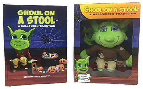 """The<a href=""""http://www.ghoulonastool.com/our-story.html"""" target=""""_blank"""">Ghoul on a Stool</a> is a Halloween story abou"""