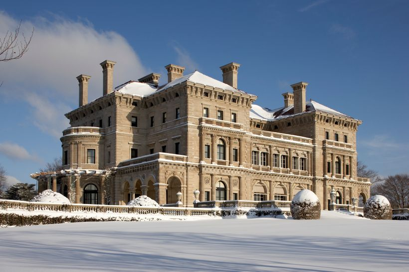 The Breakers, at winter time.