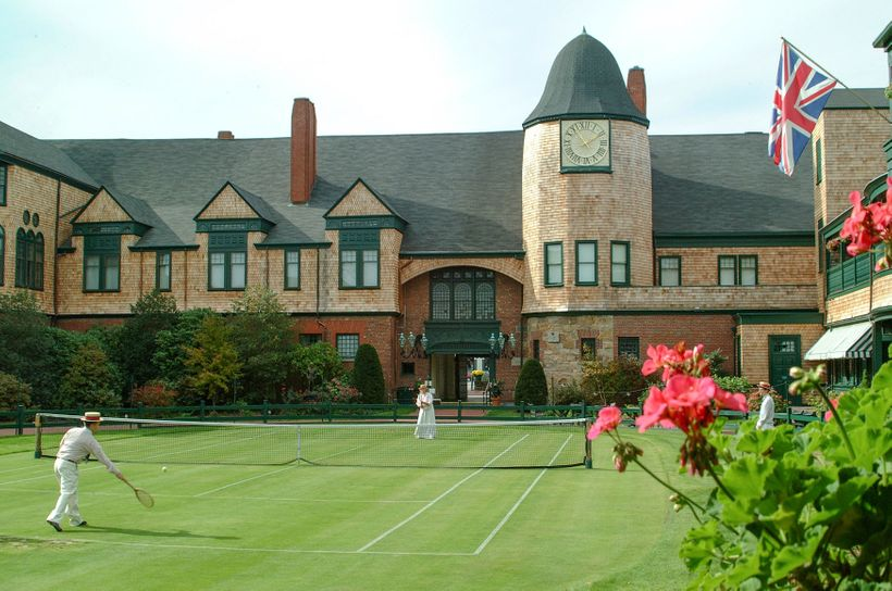 The International Tennis Hall of Fame in Newport.