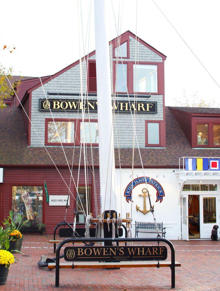<p>Flagship Kiel James Patrick store at Bowen's Wharf. </p>