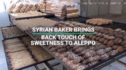 Syrian Baker Brings Back A Touch of Sweetness To