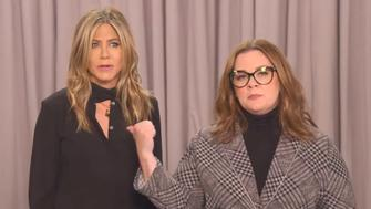 Melissa McCarthy and Jennifer Aniston