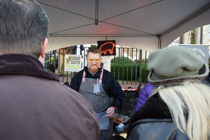 <p>Wine goggles at the Highlands Food & Wine Festival</p>