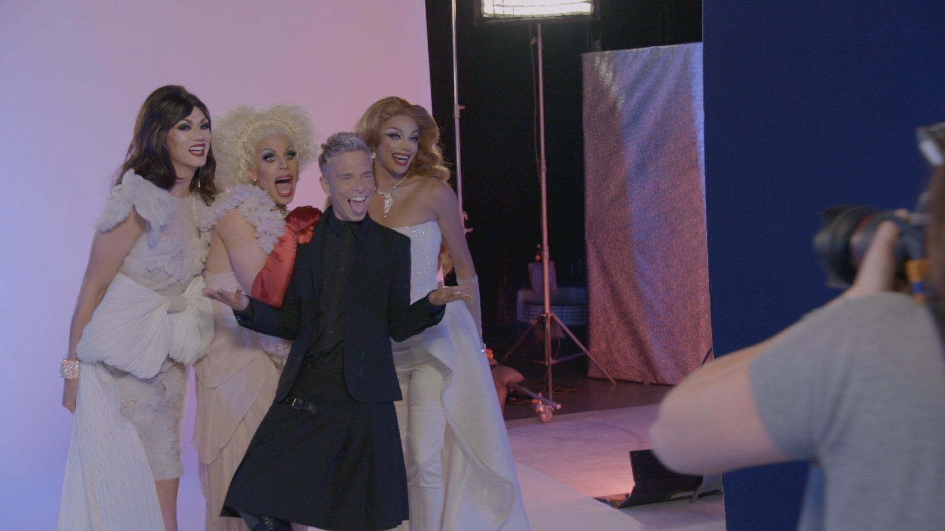 """Manila Luzon, Katya and Valentina make an apperance in the upcoming Cycle 24 of """"America's Next Top Model."""""""