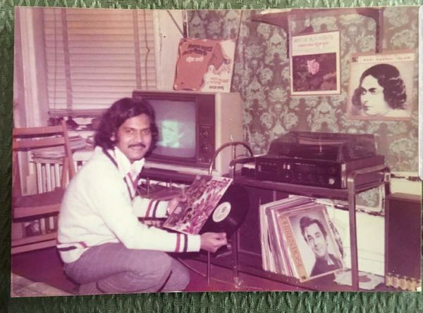 """""""This was taken in the mid '70s in NYC. My father, Harun Syed, had immigrated to the US from Bangladesh alone in 1968 at 17 y"""