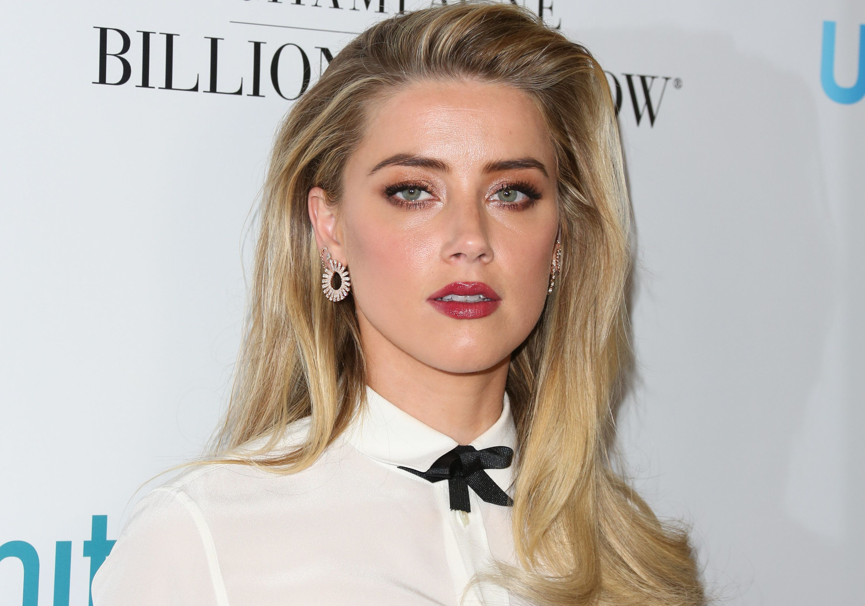 Beverly Hills Ca April  Actress Amber Heard Attends The Th Annual Unite