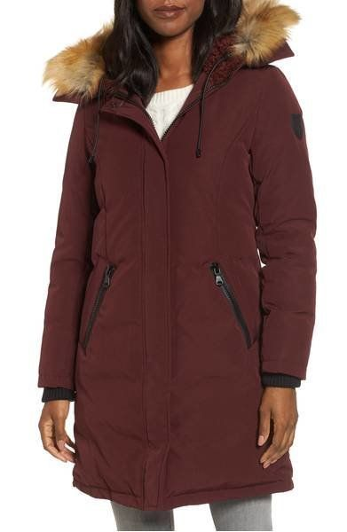 "<strong>Vince Camuto Down & Feather Fill Parka with Faux Fur Trim</strong><br><a href=""https://shop.nordstrom.com/s/"