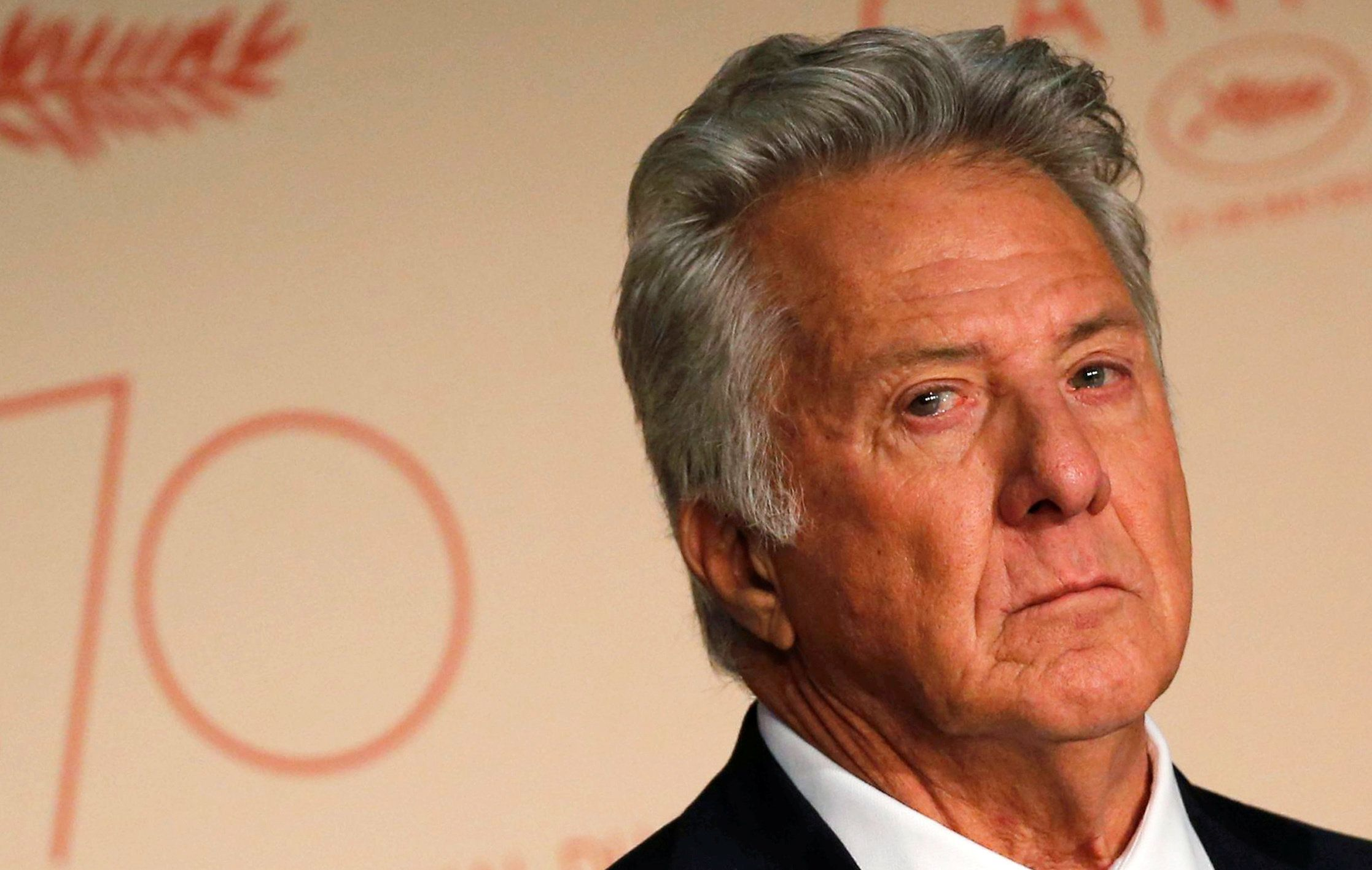 "70th Cannes Film Festival - News conference of the film ""The Meyerowitz Stories"" (New and Selected)  in competition - Cannes, France. 21/05/2017. Cast member Dustin Hoffman attends.  REUTERS/Regis Duvignau"