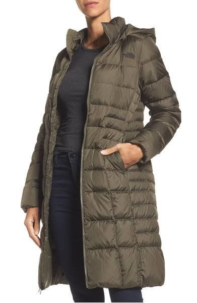 """<strong>The North Face'Metropolis II' Hooded Water Resistant Down Parka</strong><br><a href=""""https://shop.nordstrom.com"""