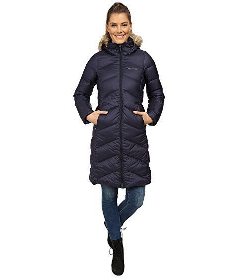 """<strong>Marmot Montreaux Coat</strong><br><a href=""""https://www.zappos.com/p/marmot-montreaux-coat-midnight-navy/product/81396"""