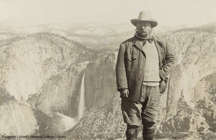 <em>President Theodore Roosevelt, America&#39;s 26th president, at Yellowstone National Park. </em>