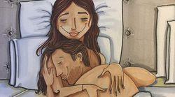 Cette dessinatrice croque les moments plus intimes de la vie à
