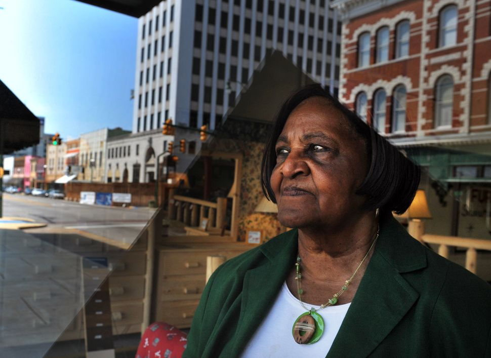 Georgia Calhoun, 81, has worked to get Anniston to formally recognize it's racist history.