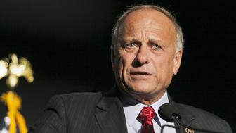 Iowa Representative Steve King speaks at the Iowa Faith and Freedom Coalition Forum in Des Moines, Iowa, September 19, 2015.  REUTERS/Brian C. Frank