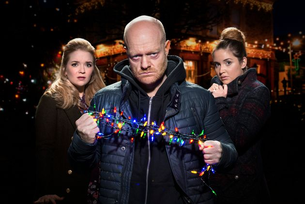 'EastEnders' finished fourth in the Christmas