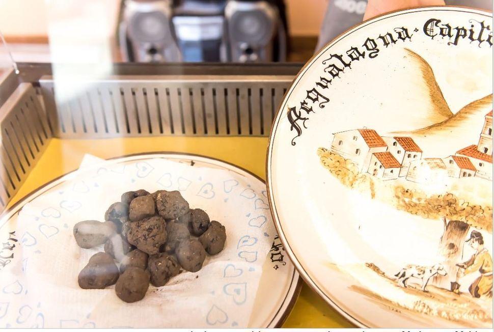 Φρέσκια τρούφα στην Acqualagna