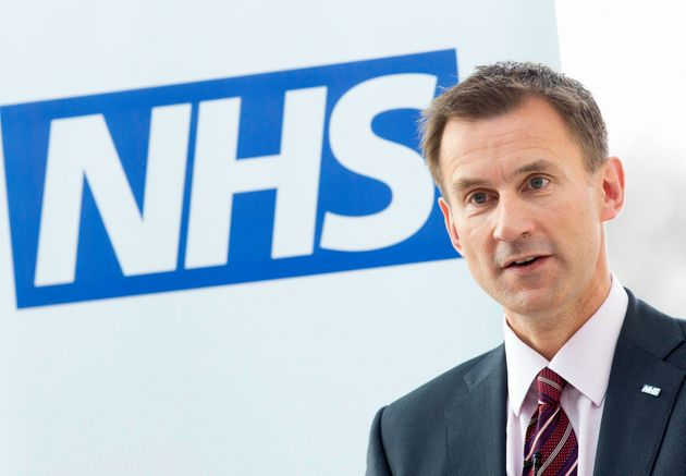 Jeremy Hunt and Stephen Hawking have clashed in the past over the
