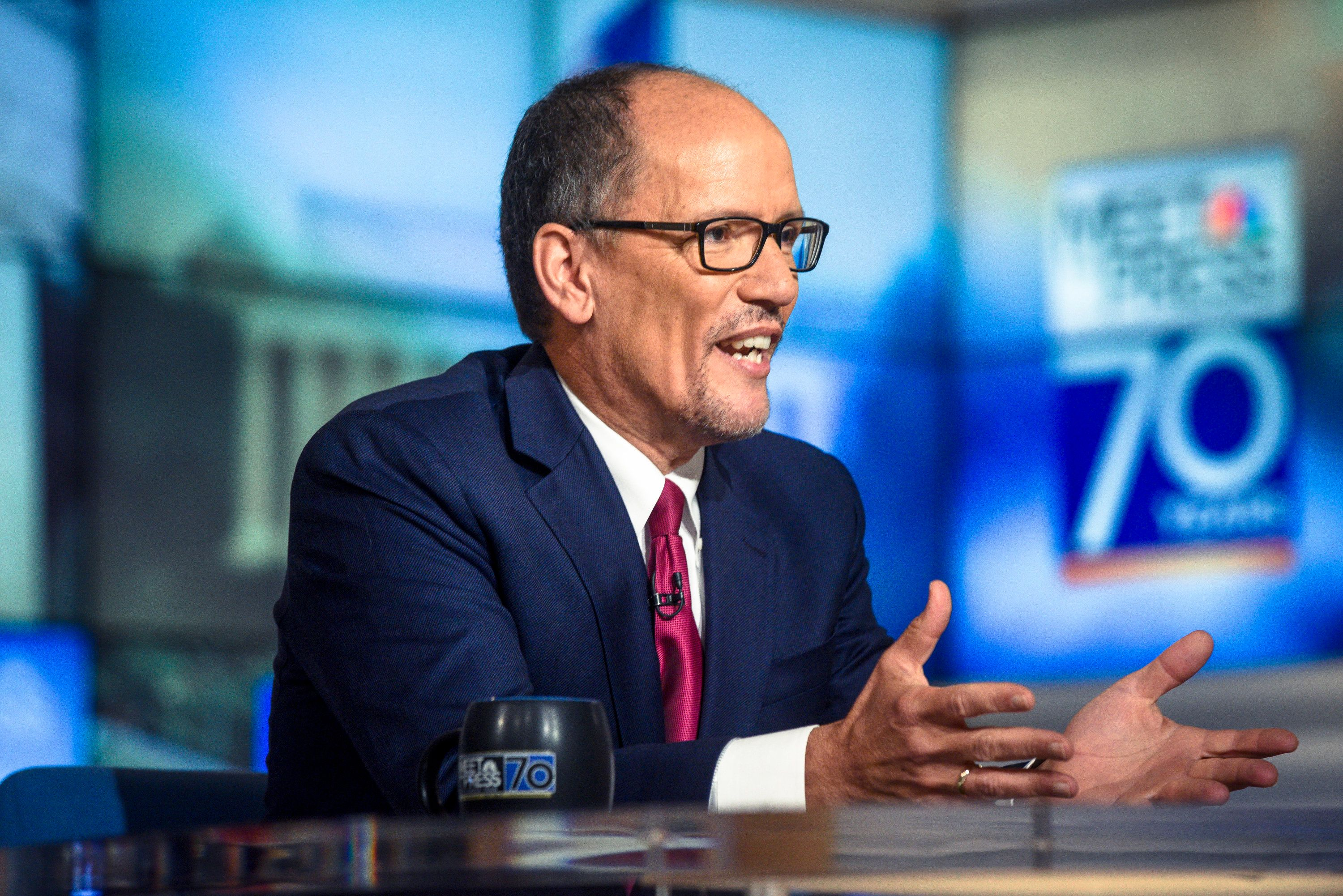 Tom Perez was elected chairman of the Democratic National Committee in February amid uncertainty about the party's commitment